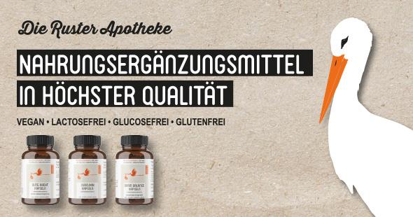 Eigenmarke der Ruster Apotheke