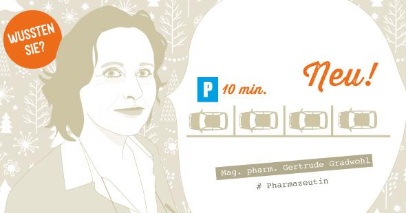 Mag. pharm. Gertrude Gradwohl informiert ...